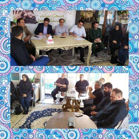البرز | ساوجبلاغ | دومین جلسه فصلی مراکز اقامتی بهبودی به میزبانی مرکز آرامش  گستران خور برگزار شد
