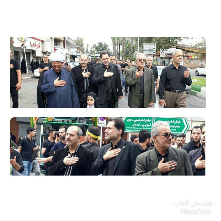گیلان   حضور مدیرکل بهزیستی گیلان در مراسم سوگواری ابا عبدالله الحسین (ع)