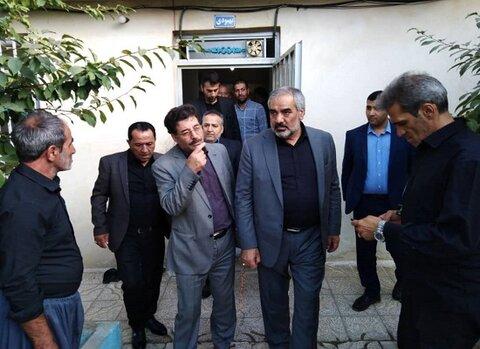 کردستان | سنندج | بازدید استاندار کردستان از کمپ ترک اعتیاد سنندج