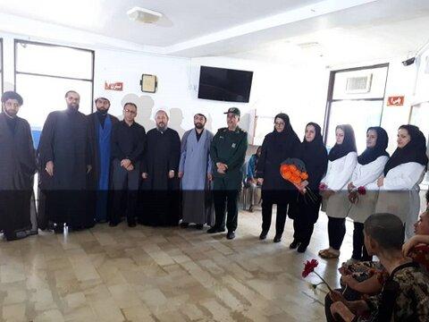 کردستان | مریوان | بازدید اعضای شورای ستاد امر به معروف بیجار از مرکز مراقبتی توانبخشی 22 بهمن