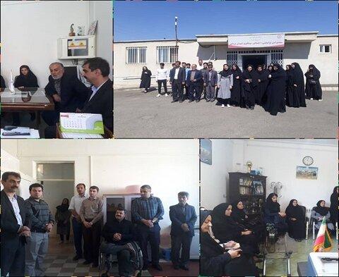 کردستان | سقز | بازدید اعضای ستاد امر به معروف از اداره بهزیستی سقز