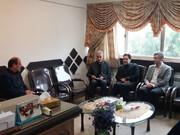 گیلان   دیدار مدیر کل بهزیستی گیلان با فرماندار شهرستان آستانه اشرفیه در خصوص تسهیلات اشتغال  به توانخواهان