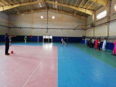 پیشوا   مسابقات ورزشی مراکز بهبودی اقامتی شهرستان  برگزار شد