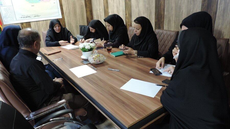 نشست شورای معاونین بهزیستی البرز