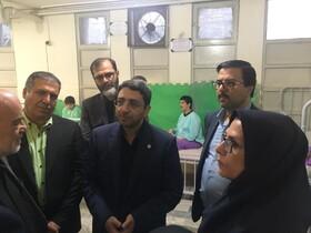 بازدید رئیس سازمان بهزیستی کشور از مرکز توانبخشی شبانهروزی امام علی(ع) ازگل