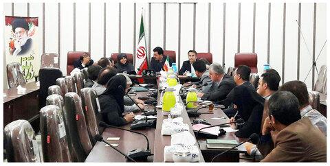 آذربایجان غربی| برگزاری جلسه کمیته مناسب سازی اماکن عمومی،معابر شهری و شورای ساماندهی سالمندان پیرانشهر