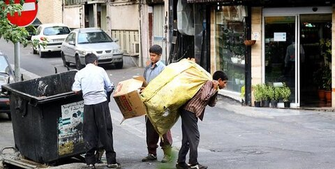زبالهگردها عمدتاً از اتباع خارجی هستند