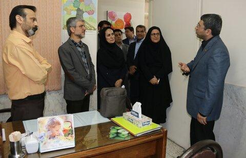 بازدید رئیس سازمان بهزیستی کشور از مرکز اورژانس اجتماعی ۱۲۳ و خط مشاوره تلفنی ۱۴۸۰ اصفهان