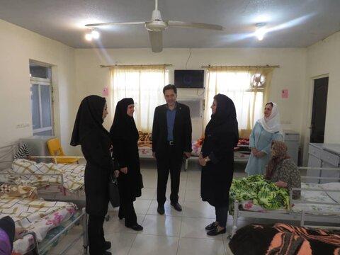 بازدید دکتر حسین نحوی نژاد از مرکز شبانه روزی سالمندان سرای محبت بندرانزلی
