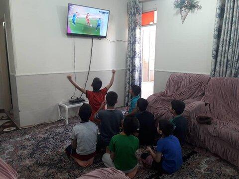 گزارش تصویری|شور و نشاط کودکان تحت حمایت بهزیستی و تماشای دربی پایتخت