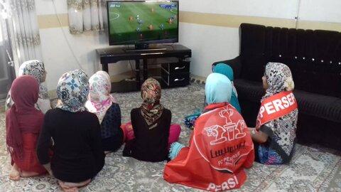 گزارش تصویری| شور و هیجان شهر آورد نودم، در خانه های کودک و نوجوان بهزیستی اصفهان