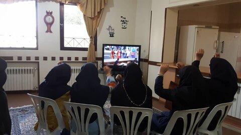 گزارش تصویری تماشای دربی در مراکز بهزیستی