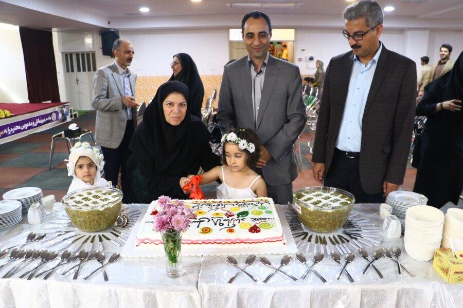 زنگ مهر در مهدهای کودک بهزیستی یزد