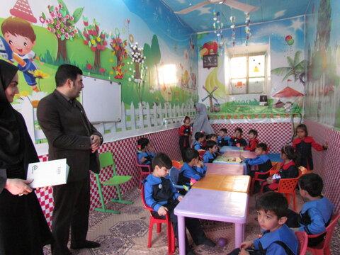 زنگ آغاز سال تحصیلی جدید در مهد های کودک شهرستان تفت طنین انداز شد