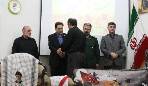 برگزاری همایش بزرگداشت هفته دفاع مقدس در اداره کل بهزیستی گیلان