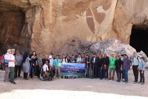گزارش تصویری ا طبیعتگردی تیم کوهنوردی سازمان بهزیستی کشور در استان سمنان