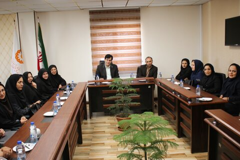 گزارش تصویری   دیدار صمیمانه و تقدیر متقابل مدیرکل بهزیستی استان با خانواده معظم شهدا