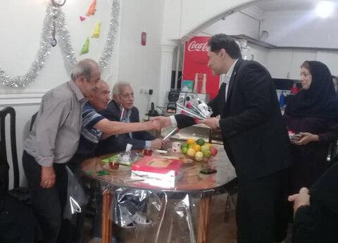 بازدید دکتر حسین نحوی نژاد از مراکز روزانه و شبانه سالمندان