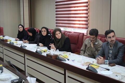 گزارش تصویری | نشست مشترک اداره کل بهزیستی و اتاق اصناف