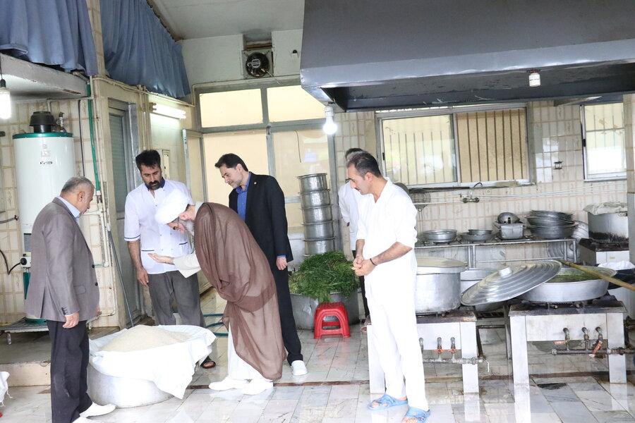 بازدید از آسایشگاه سالمندان و معلولین رشت