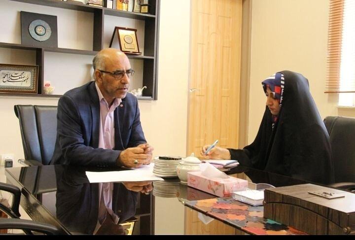مصاحبه مدیرکل و معاون توانبخشی اداره کل بهزیستی استان سمنان بمناسبت هفته ناشنوایان و سالمندان