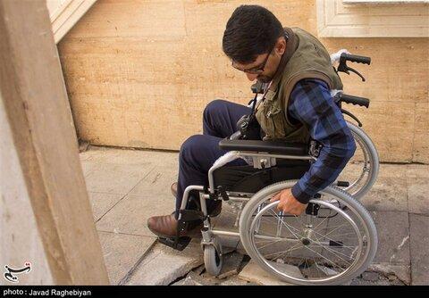 برخی مدارس و دانشگاههای پلدختر برای تردد معلولان مناسب سازی نشده است