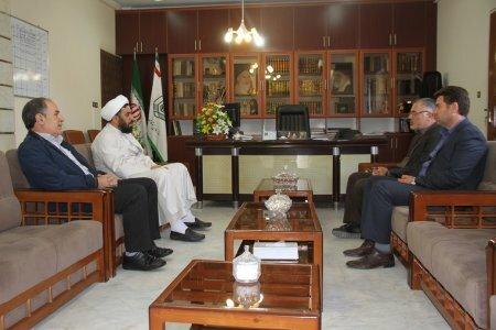 دیدار مدیرکل بهزیستی استان با مدیرکل اوقاف و امور خیریه اردبیل