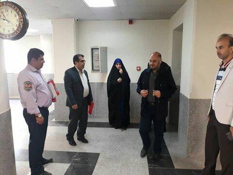 بهارستان |  فرماندار شهرستان بهارستان از اورژانس اجتماعی بهزیستی بازدید کرد