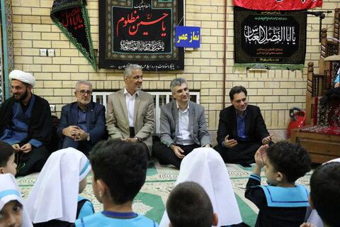 برگزاری مراسم سه ساله های حسینی ویژه مهد های کودک