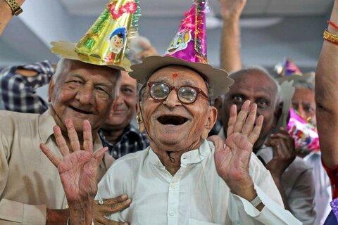 پردیس | مراسم روز جهانی سالمند در پردیس برگزار شد