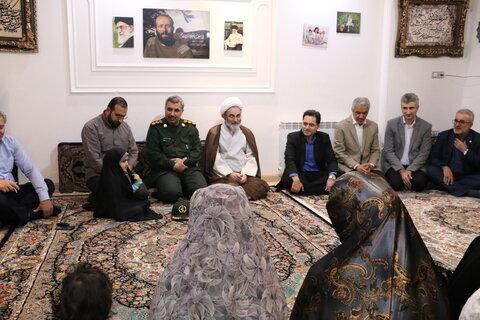 دیدار با فرزندان خانواده معزز شهید مدافع حرم به مناسبت هفته ملی کودک