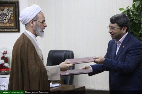 حوزه علمیه و سازمان بهزیستی کشور تفاهمنامه همکاری امضا کردند