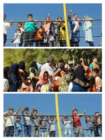 برگزاری اردوی فرهنگی ویژه کودکان کم برخوردار و خانواده های آنها