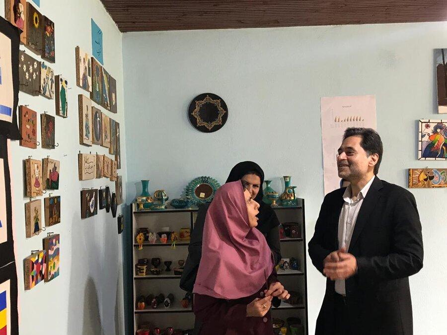 بازدید از مرکز جامع توانبخشی معلولان ذهنی نسل سبز لاهیجان