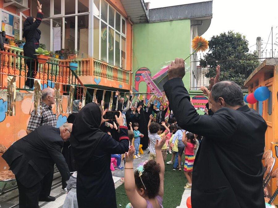 بازدید از مهد کودک خورشید به مناسبت هفته ملی کودک