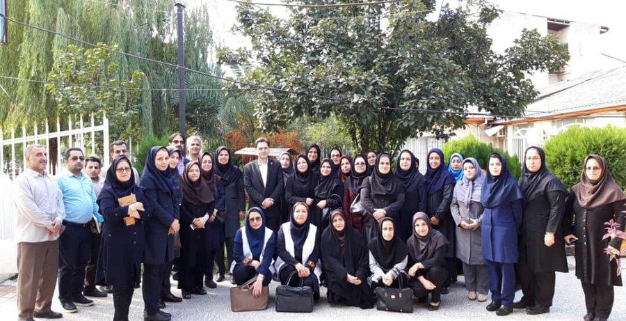 دیدار با کارکنان اداره بهزیستی شهرستان لاهیجان