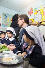 گزارش تصویری| افتتاحیه طرح تامین یک وعده غذای گرم در روستا مهدها