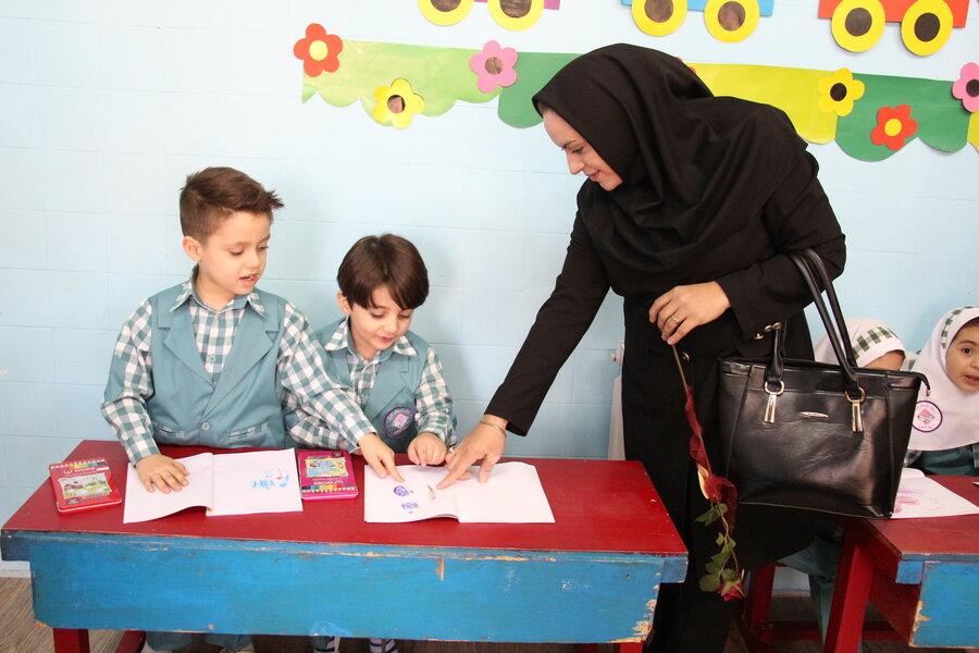 گزارش تصویری مهد کودک سمنان