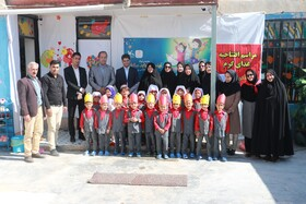 روز جهانی کودک و افتتاح غذای گرم در روستا مهدهای استان خراسان شمالی