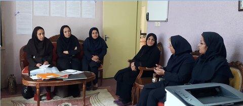 بازدید معاون اجتماعی بهزیستی گلستان از مرکز اورژانس اجتماعی آق قلا