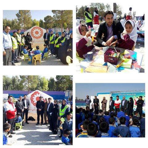 گرامیداشت روزملی و هفته کودک در بوستان بانوان زرند
