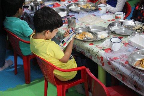 گزارش تصویری | افتتاح سیزدهمین دوره ی طرح یک وعده غذای گرم در مهدهای کودک استان البرز