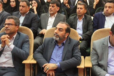 تکریم و معارفه مدیر کل بهزیستی استان فارس
