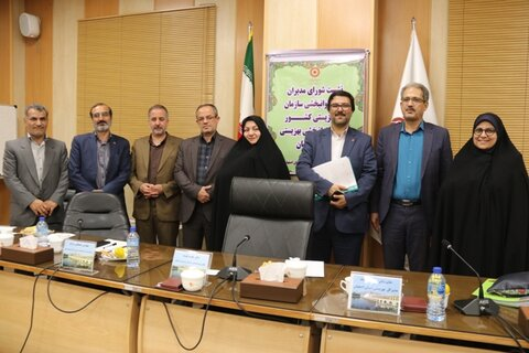 گزارش تصویری| نشست شورای مدیراناصفهان با حضور معاون توانبخشی سازمان بهزیستی کشور