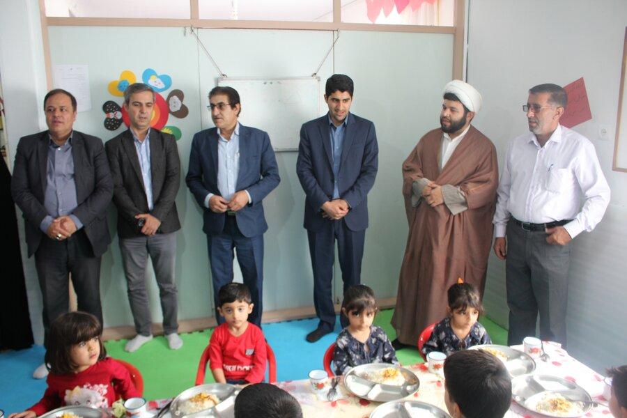 گزارش تصویری   افتتاح سیزدهمین دوره ی طرح یک وعده غذای گرم در روستا مهدهای استان البرز