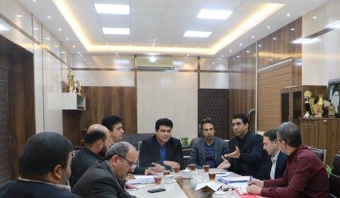 حضور مدیر کل امور حقوقی  و رئیس گروه املاک سازمان بهزیستی در خراسان شمالی