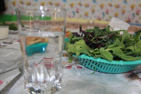 گزارش تصویری تامین یک وعده غذای گرم در مهدهای کودک ایلام