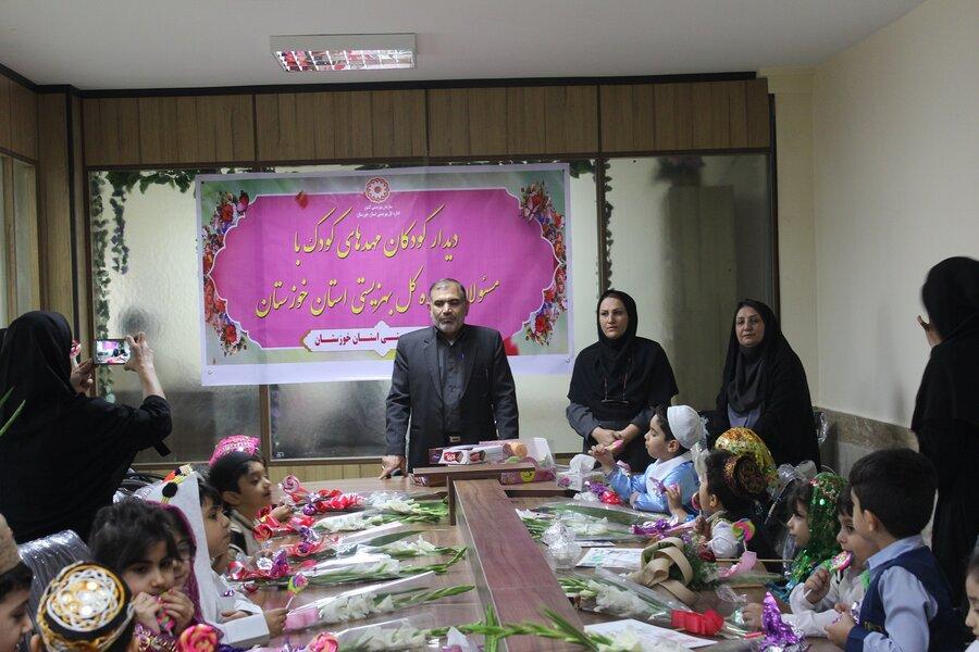 دیدار کودکان خوزستان