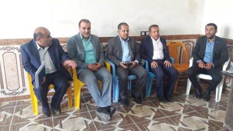 بازدید دکتر مسعودی فرید از پایگاه سلامت روان اجتماعی بخش دیشموک