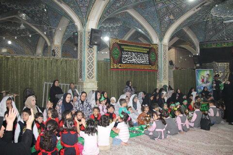 برگزاری همایش سه ساله های حسینی در امامزاده خاتون اراک